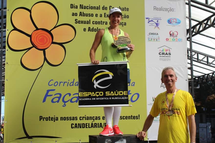 Premiação 45/49 anos feminino 8km