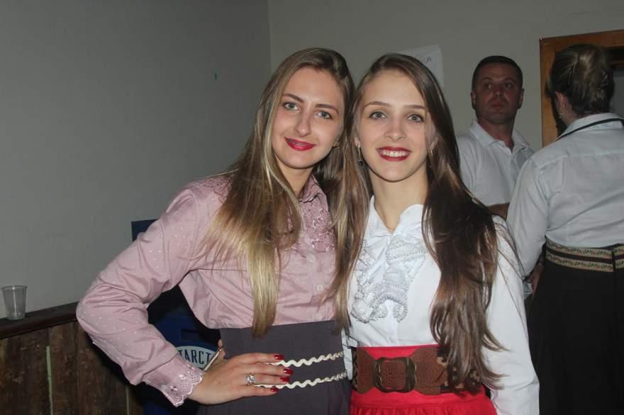 Fernanda Gewher e Maiquieli da Silveira