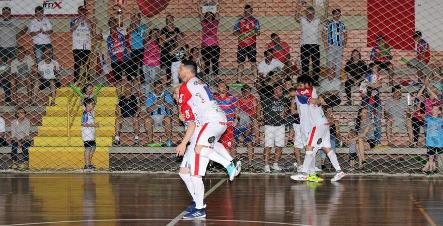Ao final da partida, jogadores do Atlético comemoraram bastante a vitória