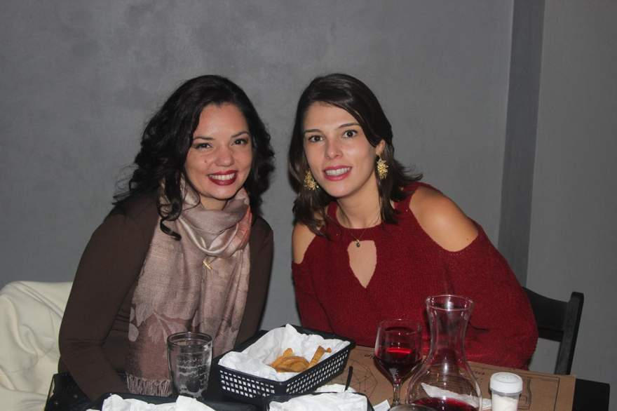 Leka Dornelles e Patrícia Martins