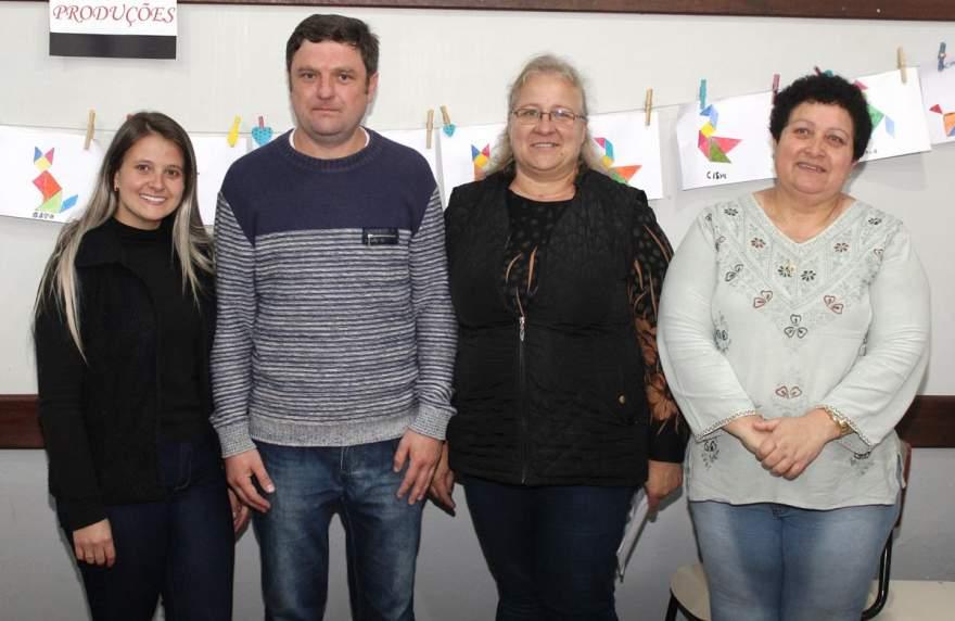 Hindaía, Astor, Silvana e Marta: quatro dos cinco eleitos