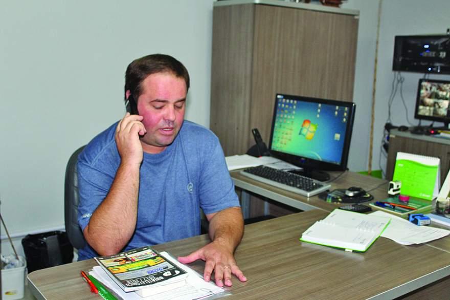 O diretor Alan Patrick Wagner