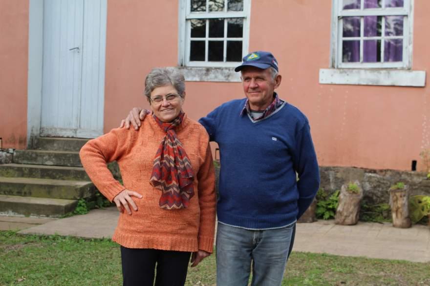 Marlise e Cláudio Hennig exprimem receio pela continuidade do Museu Rural
