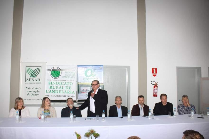 Presidente do Sindicato Rural, Mauro Flores, agradece as parcerias para a realização do programa pelo 15º ano consecutivo