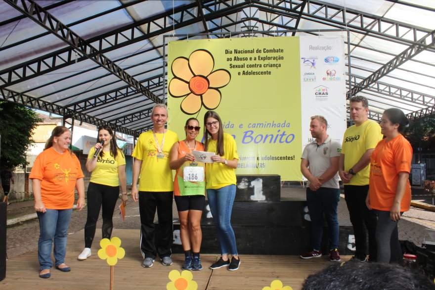 Maria Fiuza Speth foi a vencedora da viagem a Gramado sorteada entre os competidores