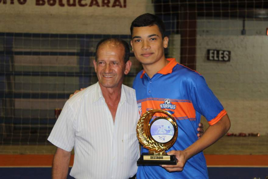 Caio Bartz, destaque da categoria Sub 17