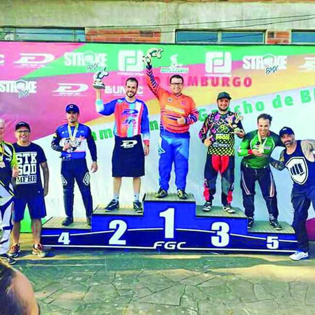 Lucas Santiago obteve o 3º lugar na primeira etapa em Novo Hamburgo