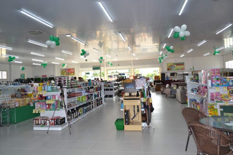 A nova loja da Afubra, moderna e com ampla variedade de produtos