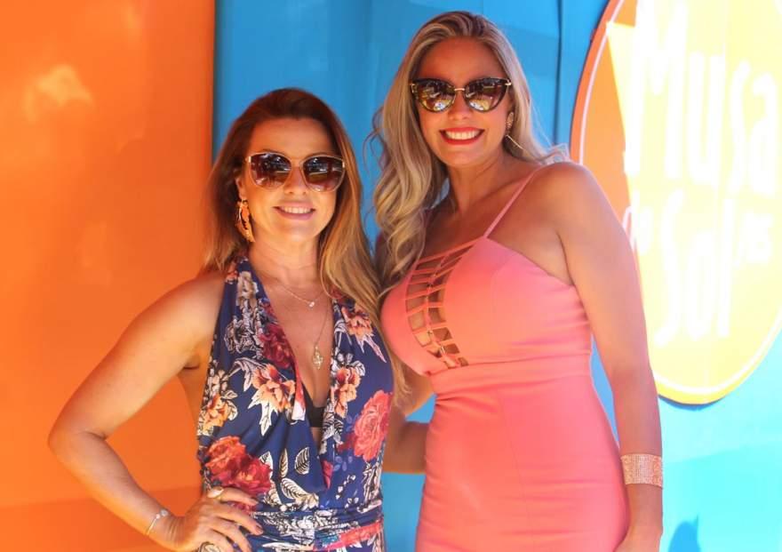 Bea Xavier, estilista Areia Finna e a Musa Karen Kohler