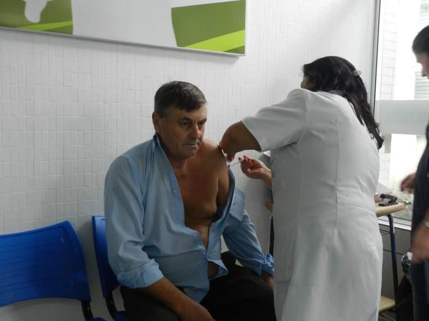 A campanha contra a gripe se estenderá até o dia 26 de maio