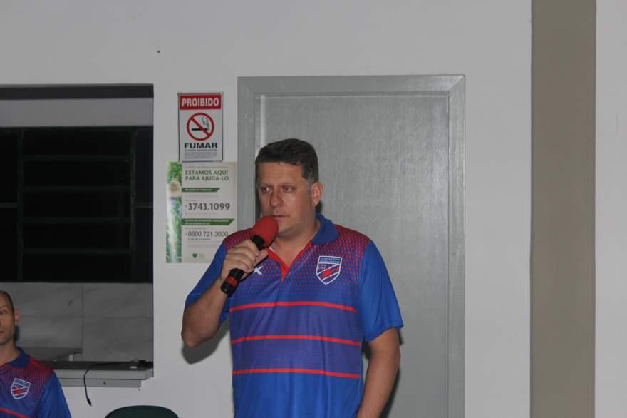 Rafael Vezentini, presidente do Atlético