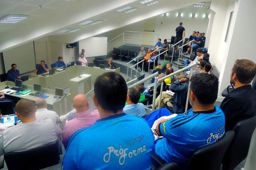 Congresso técnico aconteceu na sede da FGFS, em Porto Alegre