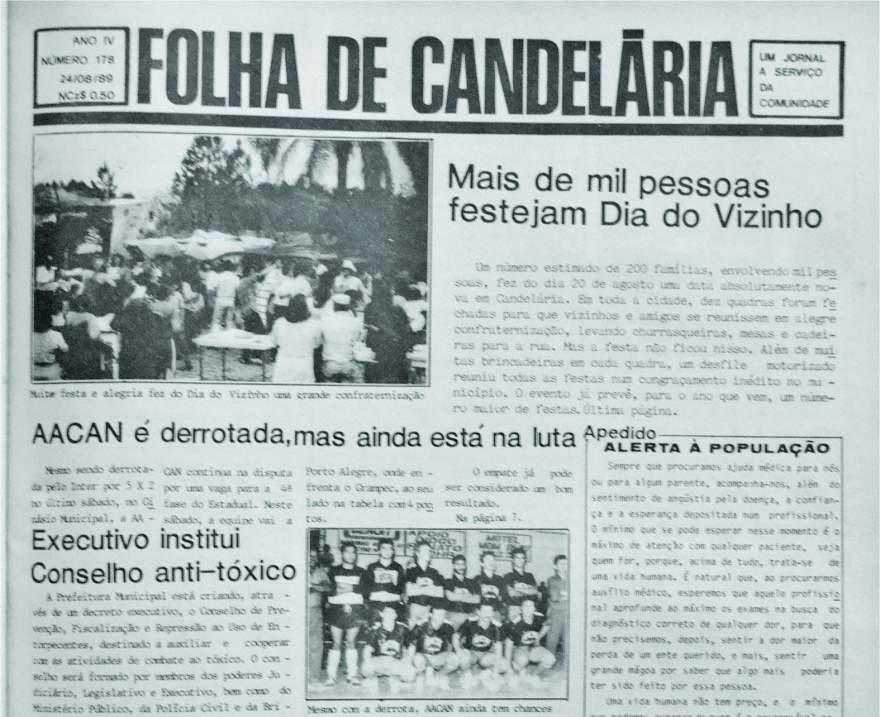 Edição de 24 de agosto de 1989