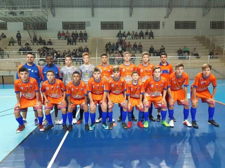 Korpus Atlético estreou com vitória por 9 a 3 sobre a ASTF pela Liga Gaúcha Sub 15