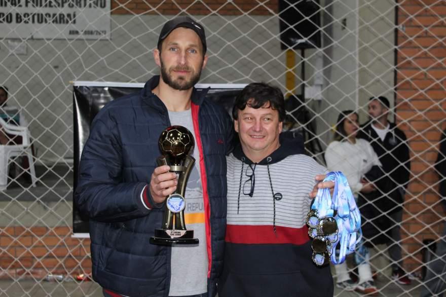 Semal/Bataioli, terceiro lugar da categoria livre