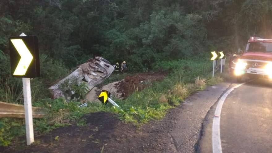 Acidente ocorreu no km 17, no local conhecido como curva das cobras