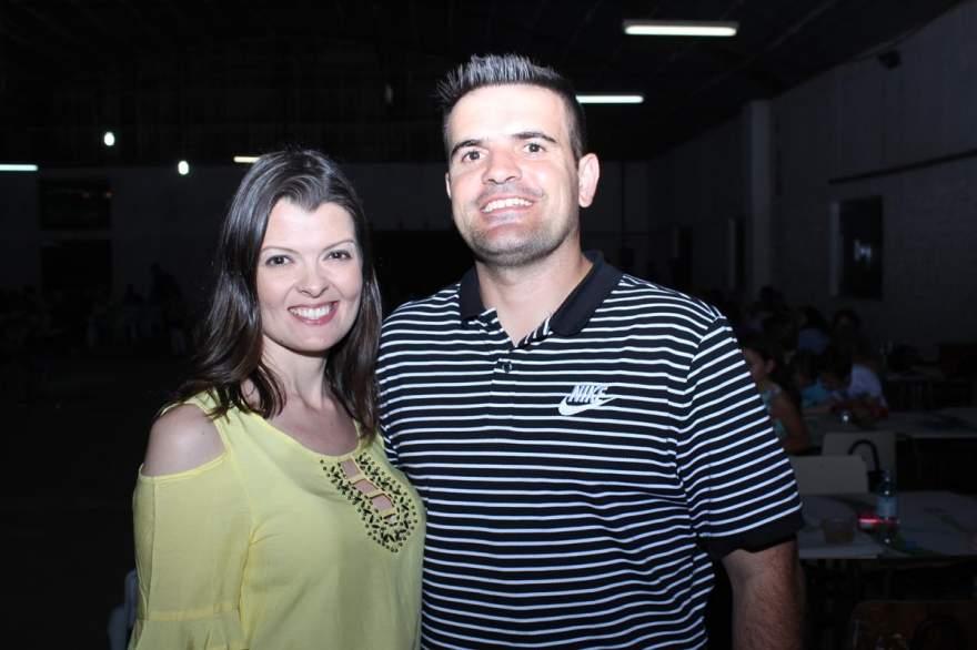 Juliana e Douglas Braga