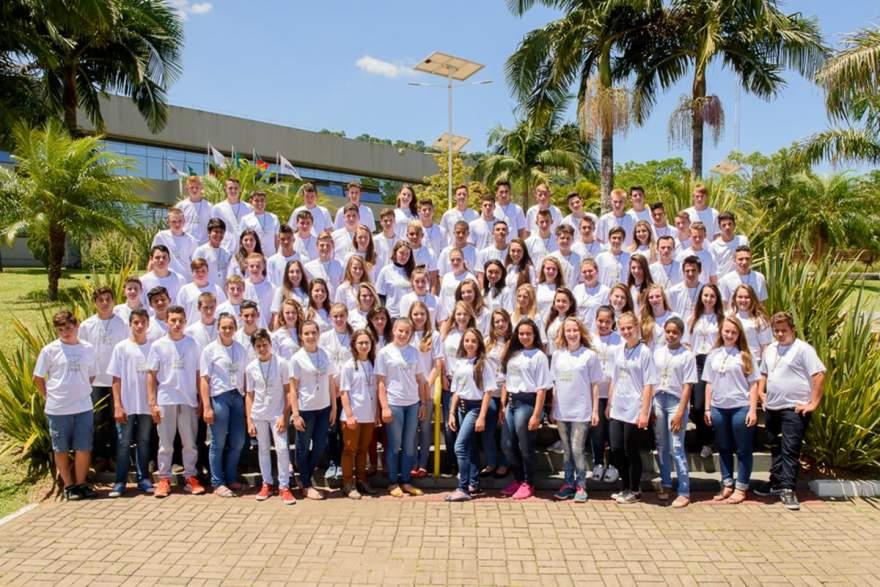 Projeto-piloto iniciado em 2016 com a participação de quase 100 jovens rurais será continuado em 2018 - Crédito: Divulgação - Instituto Crescer