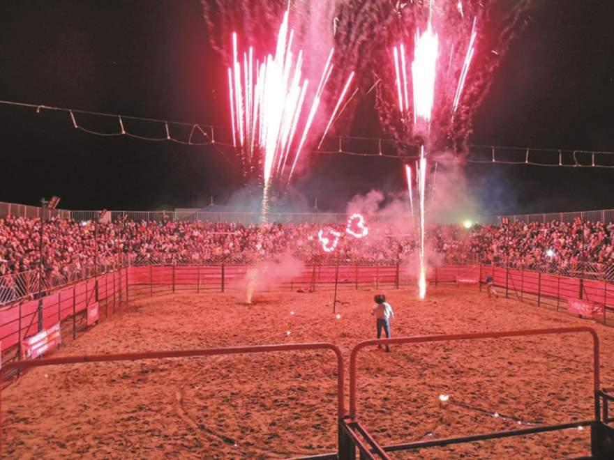 Rodeio Country César Paraná está confirmado durante as três noites do evento