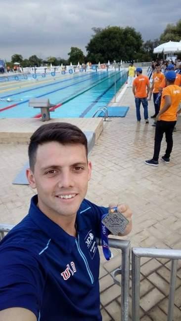 Maurício Scota obteve a medalha de prata e o índice para a final nacional dos 100 metros costa classe S9 no Rio de Janeiro