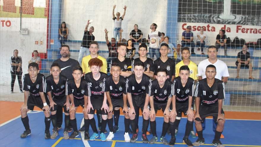 A equipe do Pinheiro Atlético Clube de Carazinho