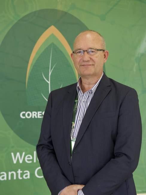 Presidente do CORESTA, Huub Vizée, afirmou estar muito feliz com o número de participantes e o conteúdo geral do programa