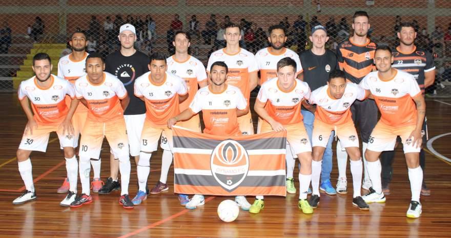 A equipe do Dynamo que empatou com o Marvados em 3 a 3