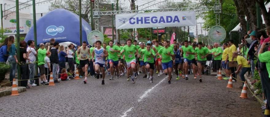 Largada ocorrerá domingo, às 9h, em frente a rua Coberta, no centro