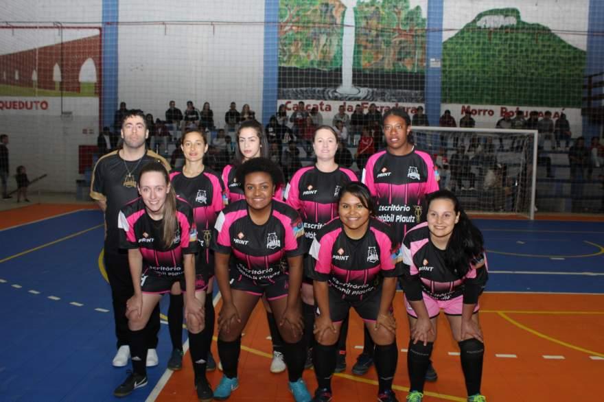 A equipe do Pumas Futsal