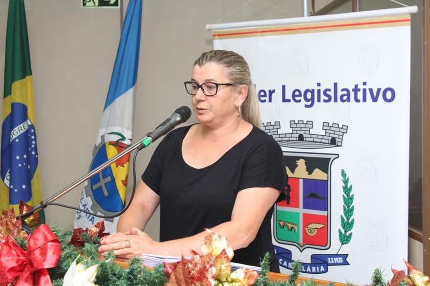Jaira Diehl alegou que a Câmara gastou demais neste ano