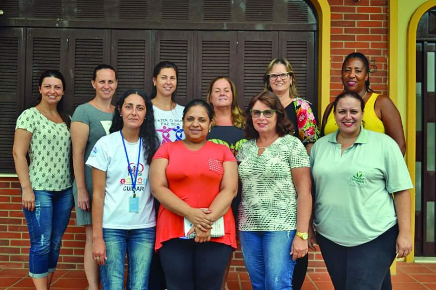 A equipe da Rede Raps, trabalho unificado para auxiliar na resolução dos mais diferentes casos de vulnerabilidade social do município