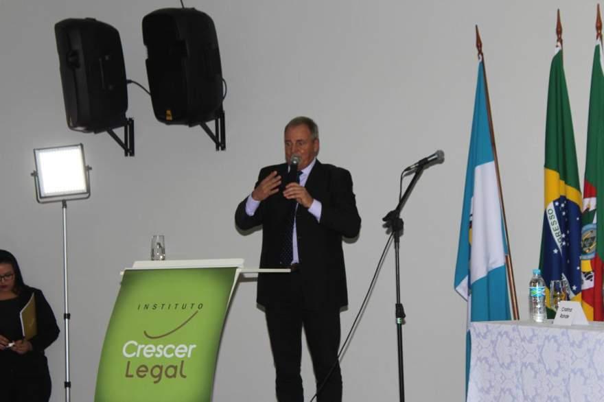 O vice-prefeito de Candelária, Nestor Ellwanger