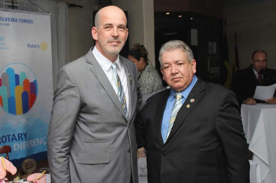 Beto Barbier e Rui Flores e Silva: transmissão do cargo