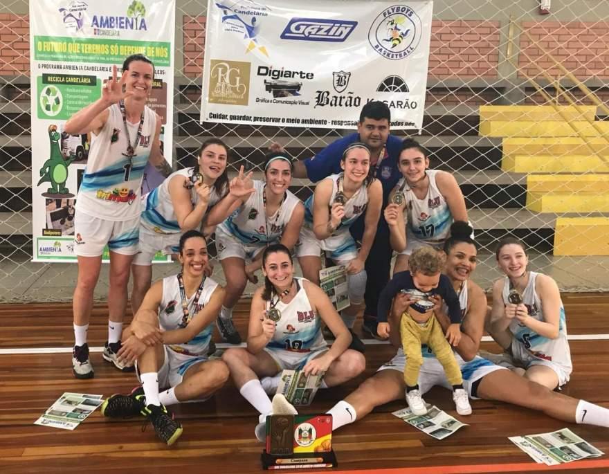 Blumenau Basquete: equipe campeã do Sul Brasileiro de Basquete Feminino