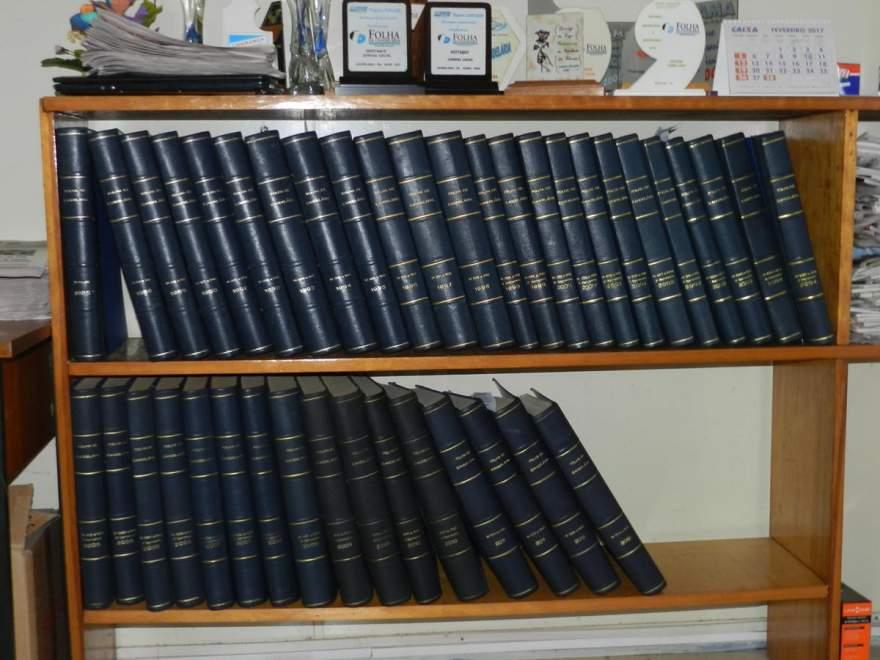 Folhear os arquivos da Folha de Candelária proporciona uma viagem no  tempo