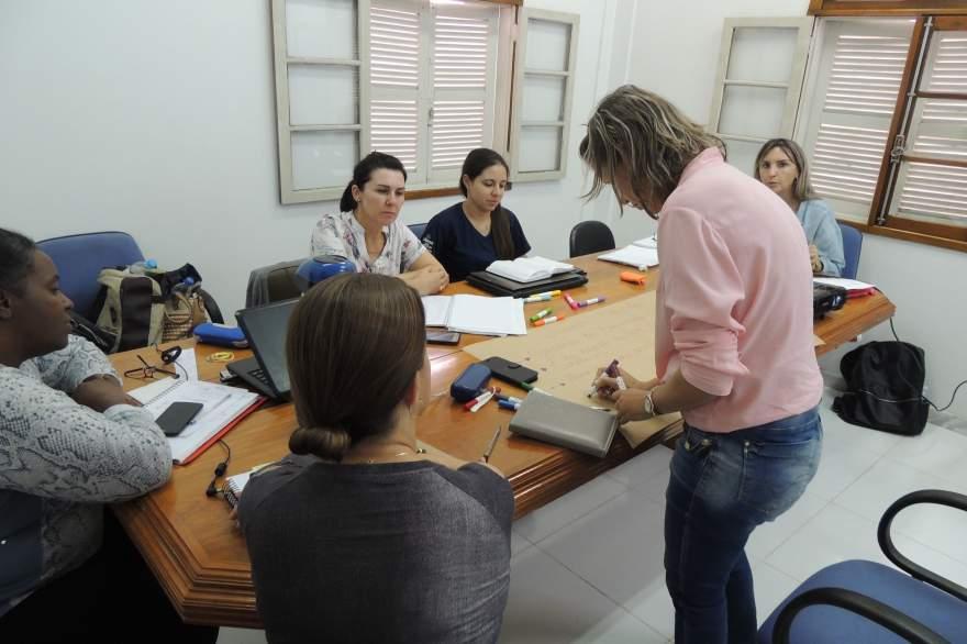Diretores participaram de mais uma reunião para construção do Projeto Político Pedagógico
