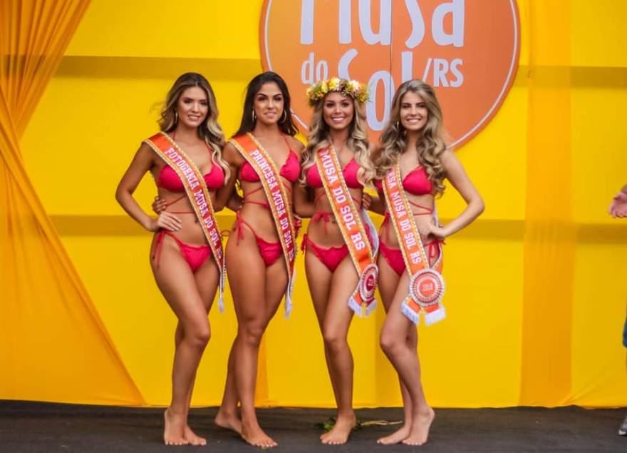 Nova corte é formada por Patrícia, Amanda, Júlia e Michaella