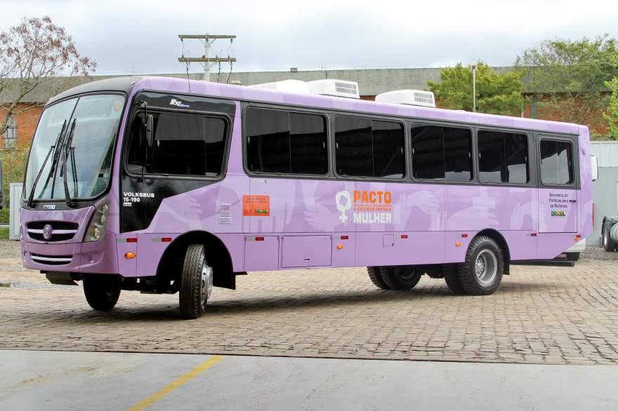 Ônibus Lilás estará em Candelária a partir de terça, 30 - Crédito: Divulgação / Folha