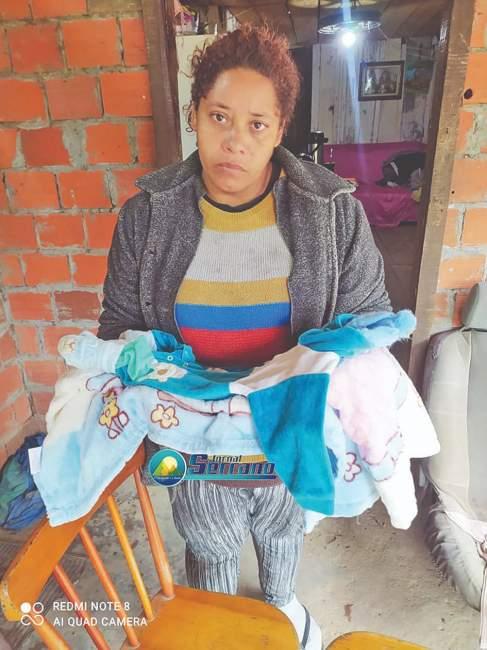 Também de Herveiras, Liane Rodrigues dos Santos, de 36 anos (Foto: Jornal Serrano)