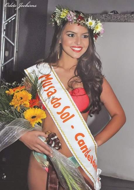 A representante de Candelária na última edição, Letícia Flores Steil