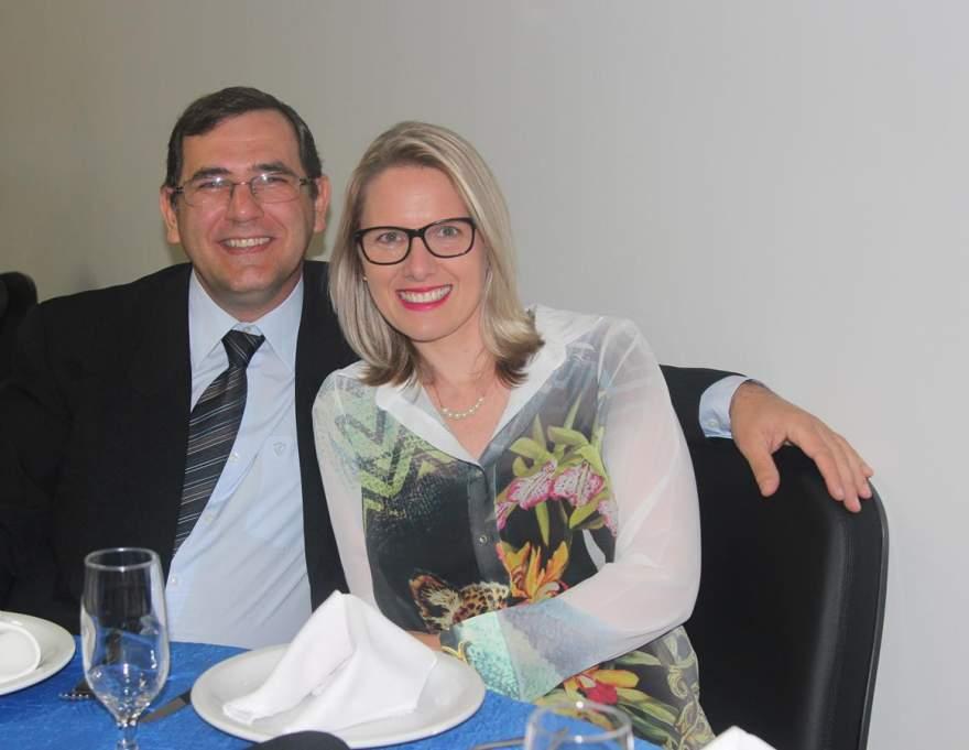 Flávio Karnopp e Janaina Gewehr