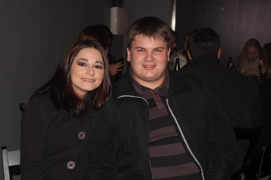 Katiele Oliveira e Charles Ortenberg