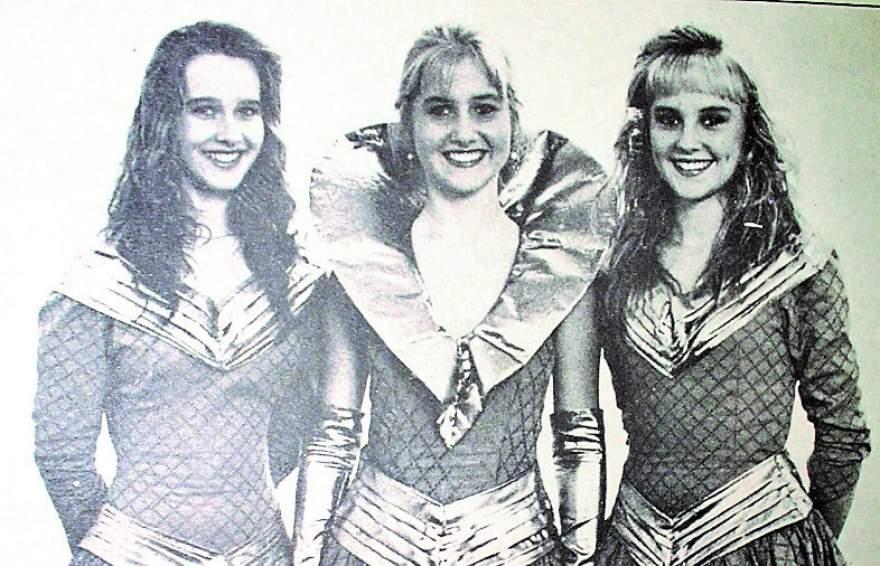 A Rainha da I Femel, Sabrina Moreira, com as Princesas Fabiana Beber e Fabiana Post