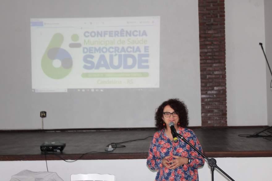 Palestra com a médica Ana Cecília Bastos Stenzel - Fotos: Tiago Mairo Garcia - Folha de Candelária