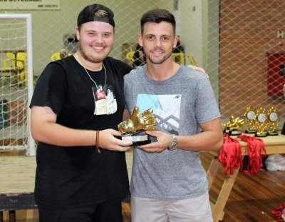 Guilherme Beise, goleiro menos vazado sub 17