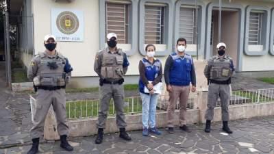 BM de Candelária deflagra Operação em combate ao furto abigeato