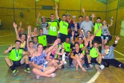 Atlético Cerrito conquista o Municipal de Futsal de Novo Cabrais