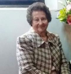 Vítima de enfarte, morreu, aos 87 anos, Amilda Prass de Oliveira