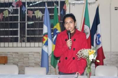 A candidata Marissol Rodrigues Alves
