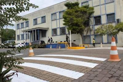 Mudanças irão garantir um melhor funcionamento do trânsito no entorno da escola